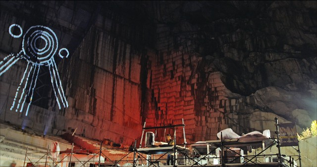 performance in a quarry